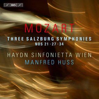 Photo No.1 of Mozart: Three Salzburg Symphonies