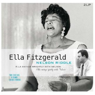 Photo No.1 of Ella Fitzgerald - Ella Swings Brightly & Gently With Nelson (180g)