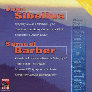 Photo No.1 of Sibelius - Barber: Symphony No. 5 - Cello Concerto
