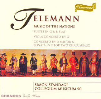 Photo No.1 of Georg Philipp Telemann: Music of the Nations