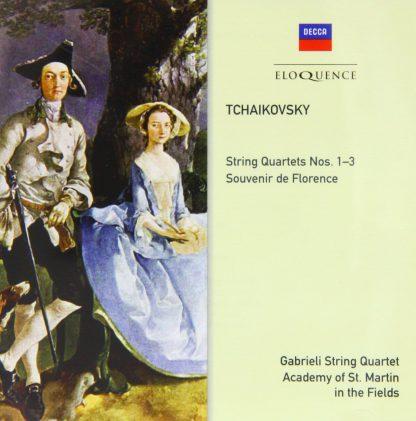 Photo No.1 of Tchaikovsky: String Quartets Nos. 1-3 & Souvenir de Florence