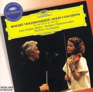 Photo No.1 of Wolfgang Amadeus Mozart: Violin Concertos Nos 3 & 5