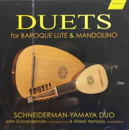 Photo No.1 of Duets for Baroque Lute & Mandolino