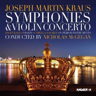 Photo No.1 of Josef Martin Kraus: Symphonies & Violin Concerto
