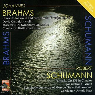 Photo No.1 of Brahms & Schumann: Works for Violin and Orchestra