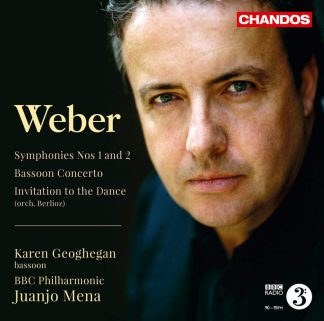 Photo No.1 of Carl Maria von Weber: Symphonies Nos. 1 and 2 & Bassoon Concerto
