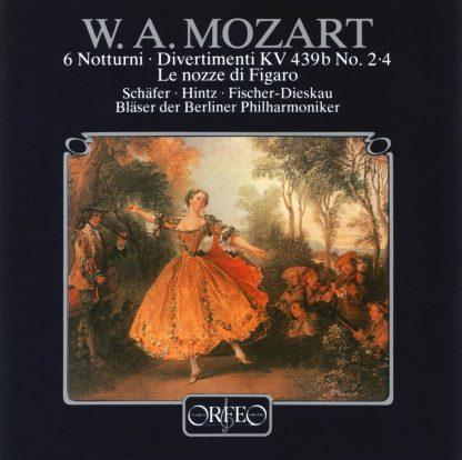 Photo No.1 of Mozart: 6 Nottturni for 2 sopranos (120 g)
