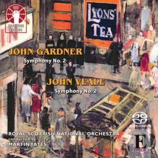 Photo No.1 of Yates conducts Symphonies No.2 of Gardner and Veale