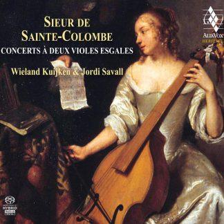 Photo No.1 of Sieur de Sainte-Colombe: Concerts à deux violes esgales