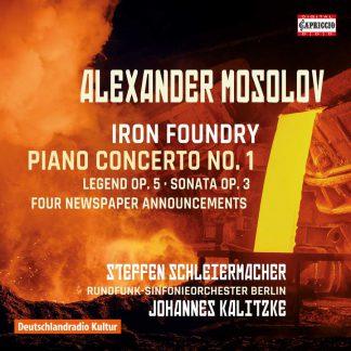 Photo No.1 of Alexander Mosolov: Iron Foundry, Piano Concerto No. 1