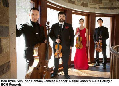 Photo No.2 of Kurtag: Moments Musicaux & Dvorak: String Quintet Op. 97