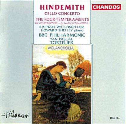 Photo No.1 of Hindemith: Cello Concerto · The Four Temperaments