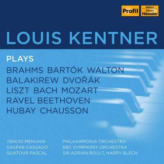 Photo No.1 of Louis Kentner plays Brahms, Bartok, Walton, Balakirew, Dvorak et al