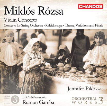 Photo No.1 of Miklós Rózsa: Orchestral Works Volume 3