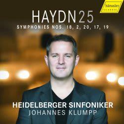 Photo No.1 of Joseph Haydn: Symphonies Nos. 18, 2, 20, 17 & 19