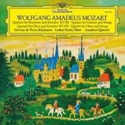 Photo No.1 of Mozart: Clarinet Quintet & Oboe Quartet (LP)