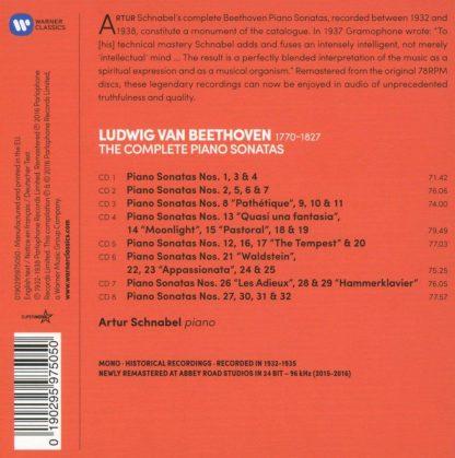Photo No.2 of Schnabel plays Beethoven: Piano Sonatas