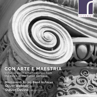 Photo No.1 of Con Arte Maestria - Virtuoso Violin Ornamentation from the Dawn of the Italian Baroque