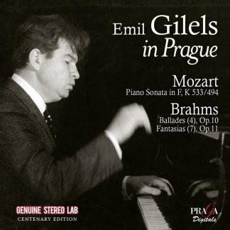Photo No.1 of Emil GILELS in Prague : Mozart piano sonata K 533 - Brahms Ballades, Fantasias
