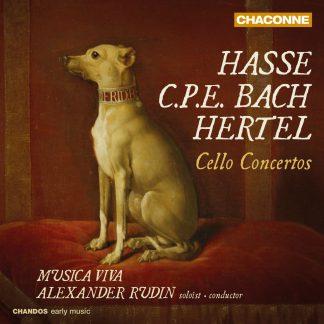 Photo No.1 of Rudin plays Hasse Hertel Bach Cello Concertos