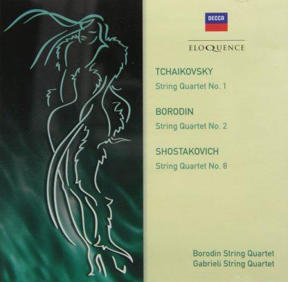 Photo No.1 of Borodin, Shostakovich & Tchaikovsky: String Quartets