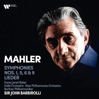 Photo No.1 of Gustav Mahler: Symphonies Nos. 1, 5, 6, 9 & Lieder