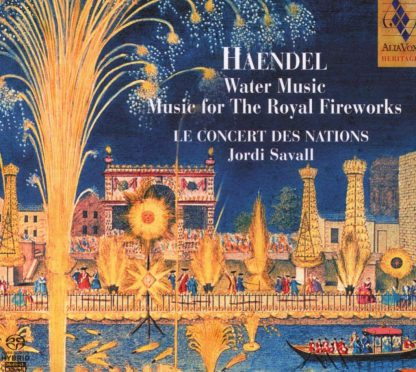 Photo No.1 of Handel: Water Music, Music for the Royal Fireworks