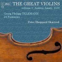 Photo No.1 of Great Violins Volume 1: Andrea Amati, 1570