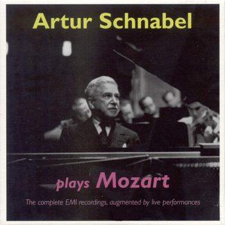 Photo No.1 of Artur Schnabel plays Mozart