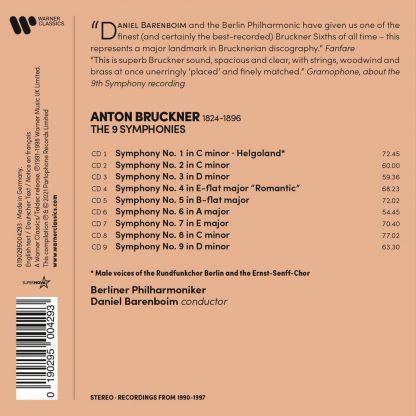 Photo No.2 of Anton Bruckner: 9 Symphonies