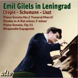 Photo No.1 of Emil Gilels in Leningrad