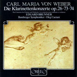 Photo No.1 of Weber: Clarinet Concertos Nr. 1 & 2 (120 g)