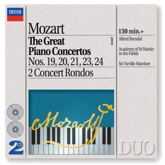 Photo No.1 of Mozart - The Great Piano Concertos, Vol. 1
