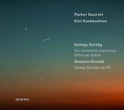 Photo No.1 of Kurtag: Moments Musicaux & Dvorak: String Quintet Op. 97