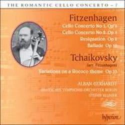Photo No.1 of The Romantic Cello Concerto, Vol. 7: Fitzenhagen & Tchaikovsky