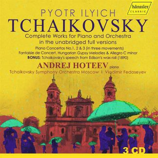 Photo No.1 of Tchaikovsky's works for Piano and Orchestra (unabridged full versions)