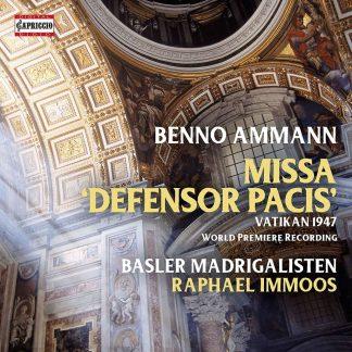 Photo No.1 of Benno Amman: Missa Defensor Pacis