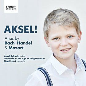 Photo No.1 of Aksel! Arias by Bach, Handel & Mozart