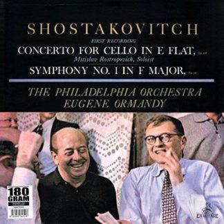 Photo No.1 of Shostakovich: Cello Concerto & Symphony No. 1 (LP)