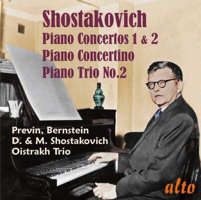 Photo No.1 of Shostakovich: Piano Concertos, Concertino & Piano Trio No. 2