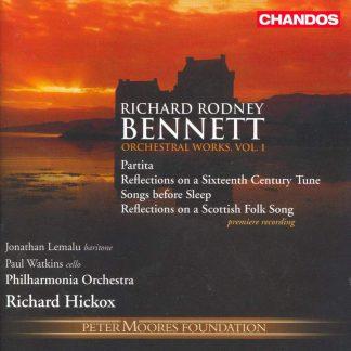 Photo No.1 of Richard Rodney Bennett: Orchestra Works Vol. 1