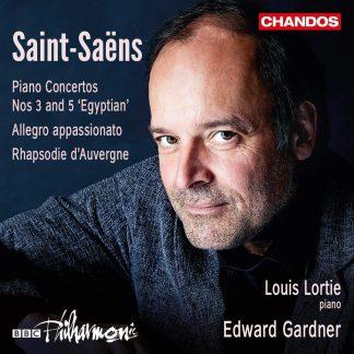 Photo No.1 of Saint-Saëns: Piano Concertos Nos. 3 and 5 'Egyptian'