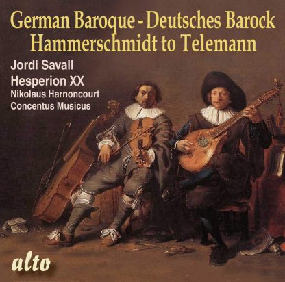 Photo No.1 of German Baroque: From Hammerschmidt to Telemann