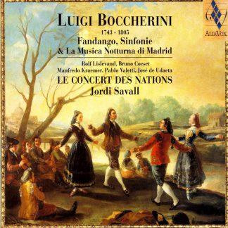 Photo No.1 of Luigi Boccherini: Sinfonias & String Quintets