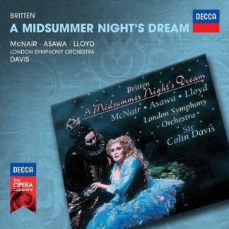 Photo No.1 of Benjamin Britten: A Midsummer Night's Dream