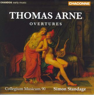 Photo No.1 of Thomas Arne: Overtures