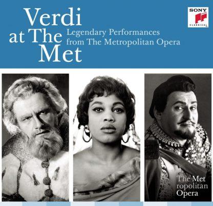 Photo No.1 of Verdi At The Met: Legendary Performances From The Metropolitan Opera