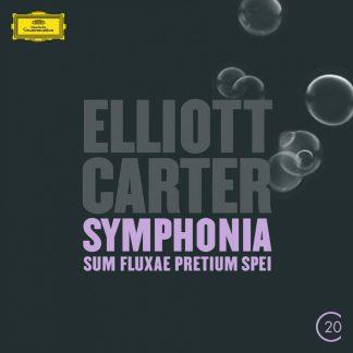 Photo No.1 of Elliott Carter: Clarinet Concerto & Symphonia: Sum Fluxae Pretium Spei