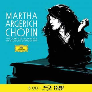 Photo No.1 of Martha Argerich - The Complete Chopin-Recordings on Deutsche Grammophon