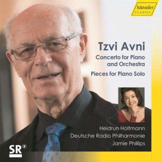 Photo No.1 of Tzvi Avni: Concerto for Piano and Orchestra & Pieces for Piano Solo